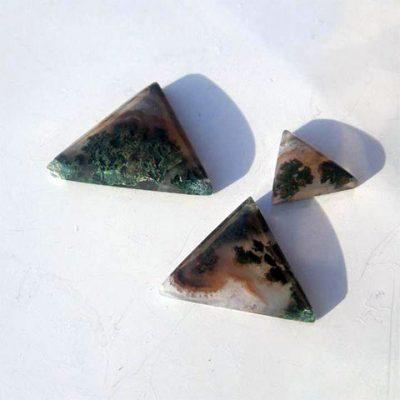 نیم ست عقیق مثلثی
